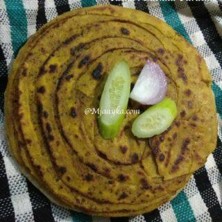 Achari Lachha Paratha Recipe