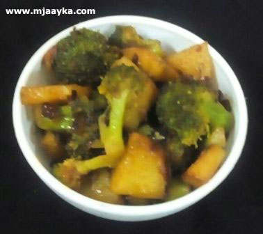 Broccoli Aloo Masala Recipe
