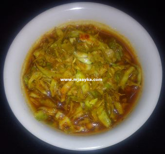 Cabbage Pickles Recipe