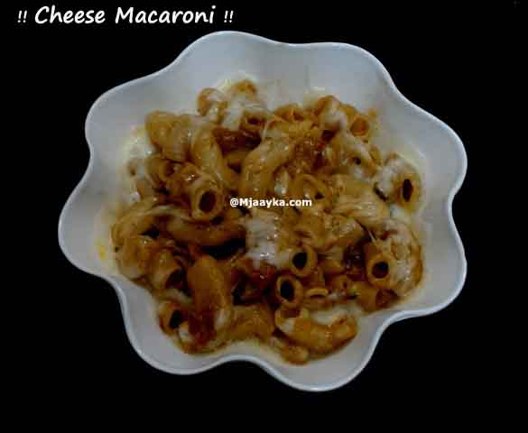Cheese Macaroni Recipe