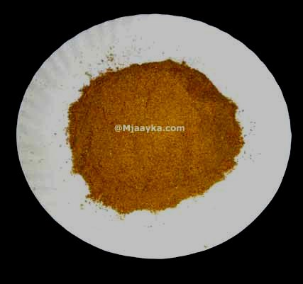 How To Make Chole Masala Powder At Home