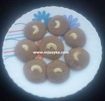 Chocolate Sandesh Recipe