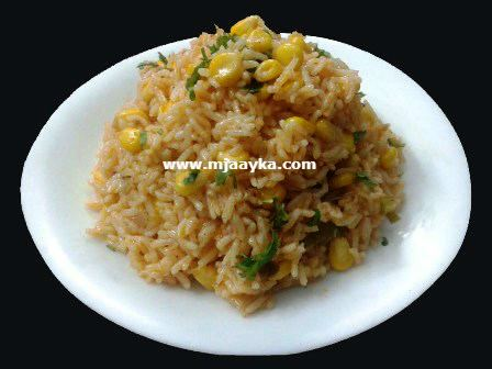 Sweet Corn Khichdi Recipe