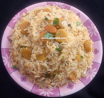 Gatta Pulao Recipe