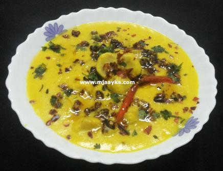 Gatta Kadhi Recipe