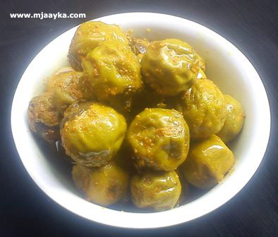 Lasora Pickles Recipe