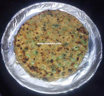 Radish Leaves Paratha Recipe
