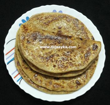 Sugar Paratha Recipe