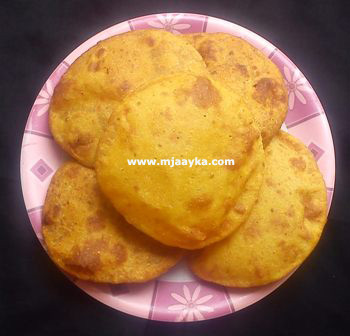 Sweet Mango Poori Recipe