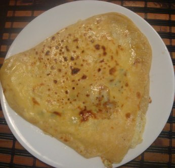 egg paratha recipe