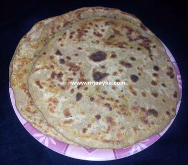 Stuffed Gobhi Paneer Paratha Recipe