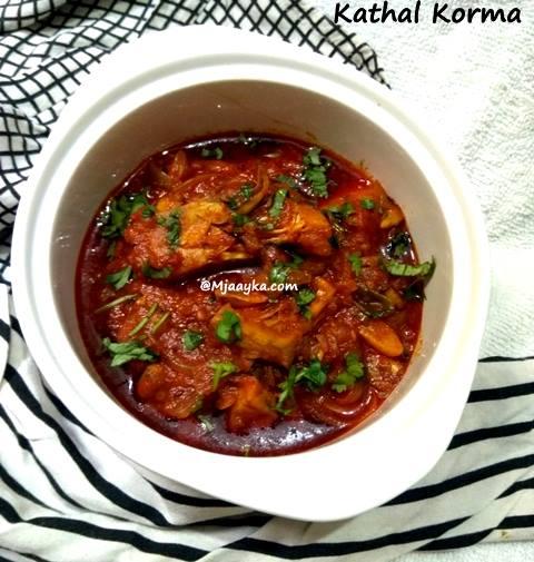 Kathal Korma Recipe