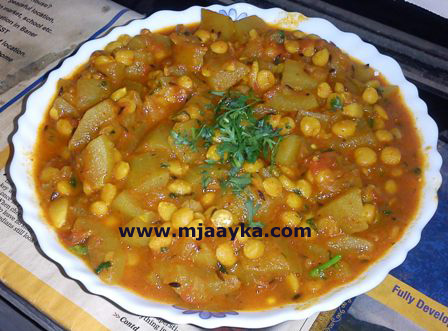 Lauki Chana Dal Recipe