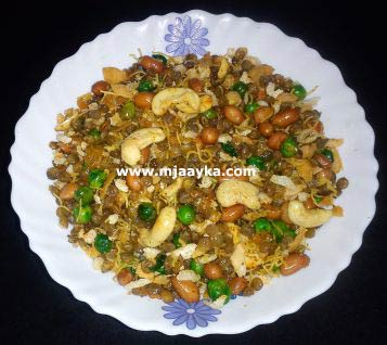 Masoor Dal Mix Namkeen Recipe