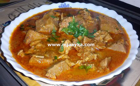 Raw Jackfruit Curry Recipe