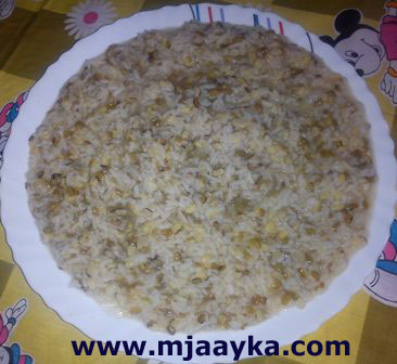 Moong Dal Ki Khichdi Recipe