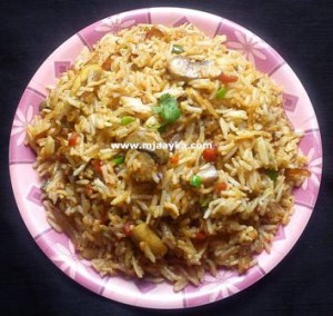 mushroom-fried-rice