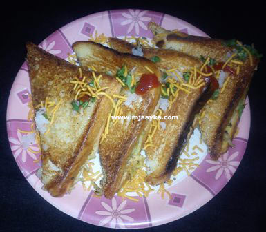 Noodles Sandwich Recipe