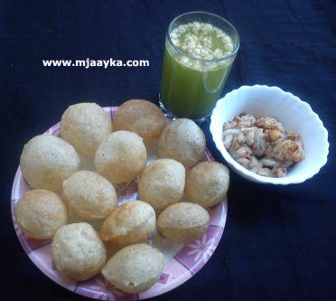 Pani Puri/ Golgappe Recipe
