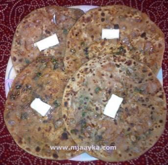 Pyaj Ka Paratha Recipe