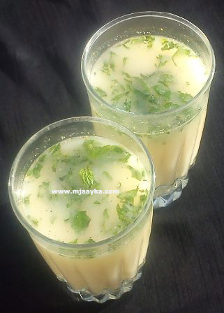 Salty Sattu Drink Recipe