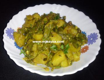 Sem Aloo Ki Sabji Recipe