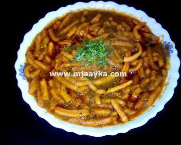 Sev Bhaji Recipe