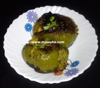 Stuffed Capsicum With Potato Masala Recipe