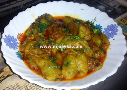 Stuffed Torai Recipe