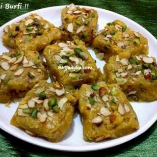 Besan Ki Burfi Recipe