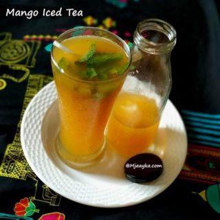 Mango Iced Tea Recipe